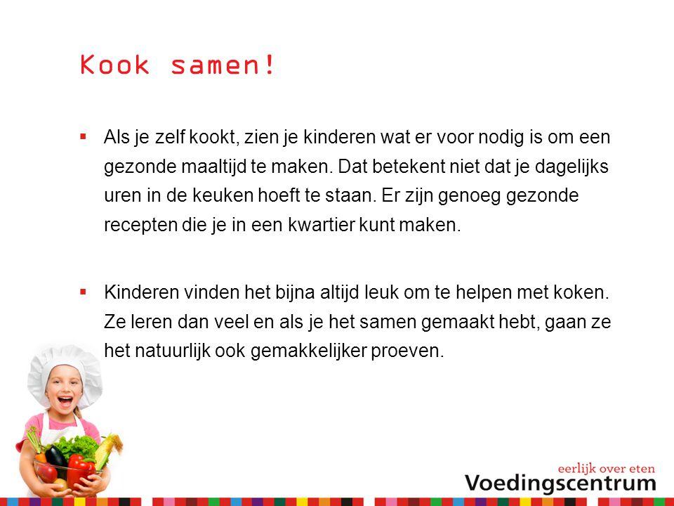 Kook samen!