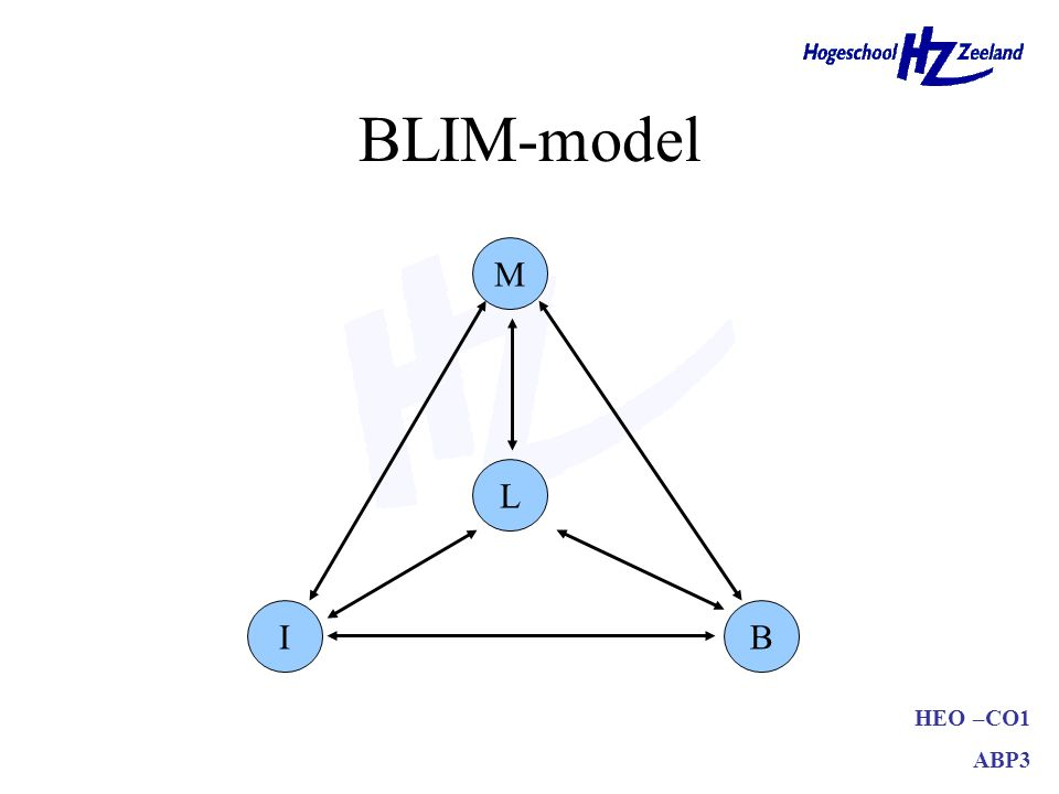 BLIM-model M L I B