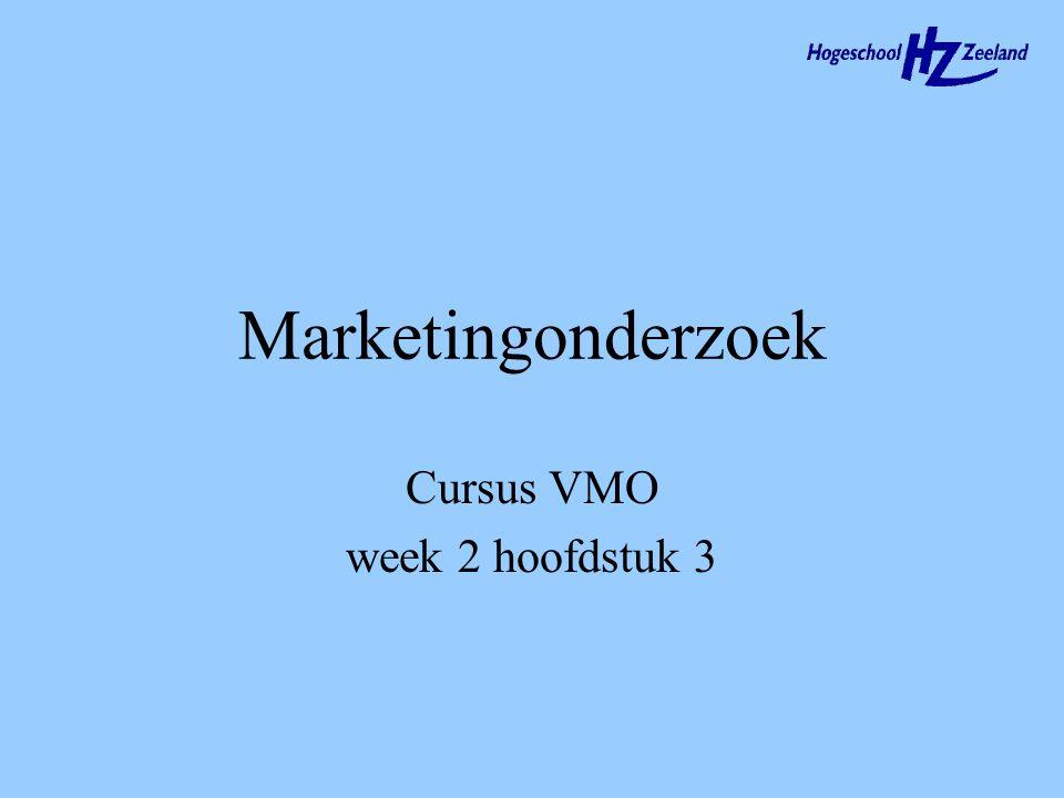 Cursus VMO week 2 hoofdstuk 3