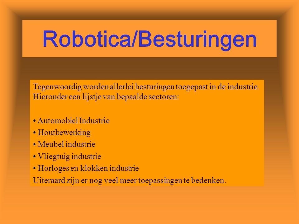 Robotica/Besturingen