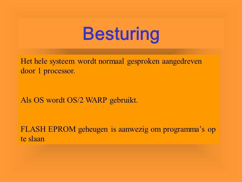 Besturing Het hele systeem wordt normaal gesproken aangedreven door 1 processor. Als OS wordt OS/2 WARP gebruikt.