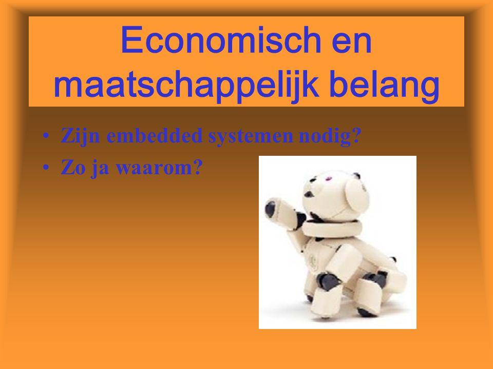 Economisch en maatschappelijk belang