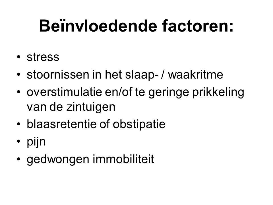 Beïnvloedende factoren: