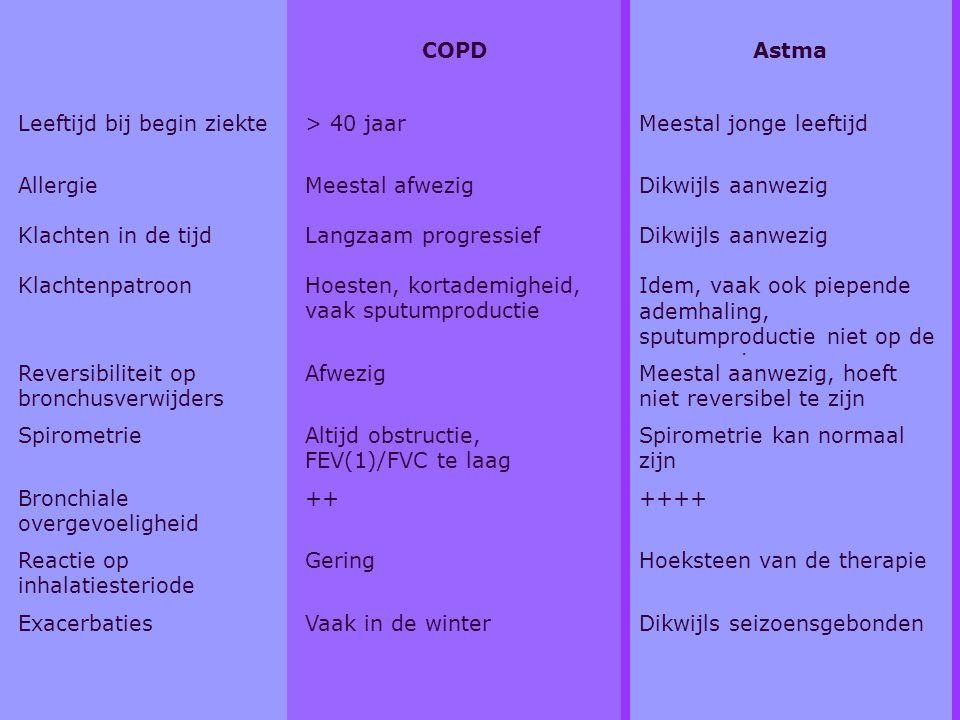 Overeenkomsten & verschillen (tabel)
