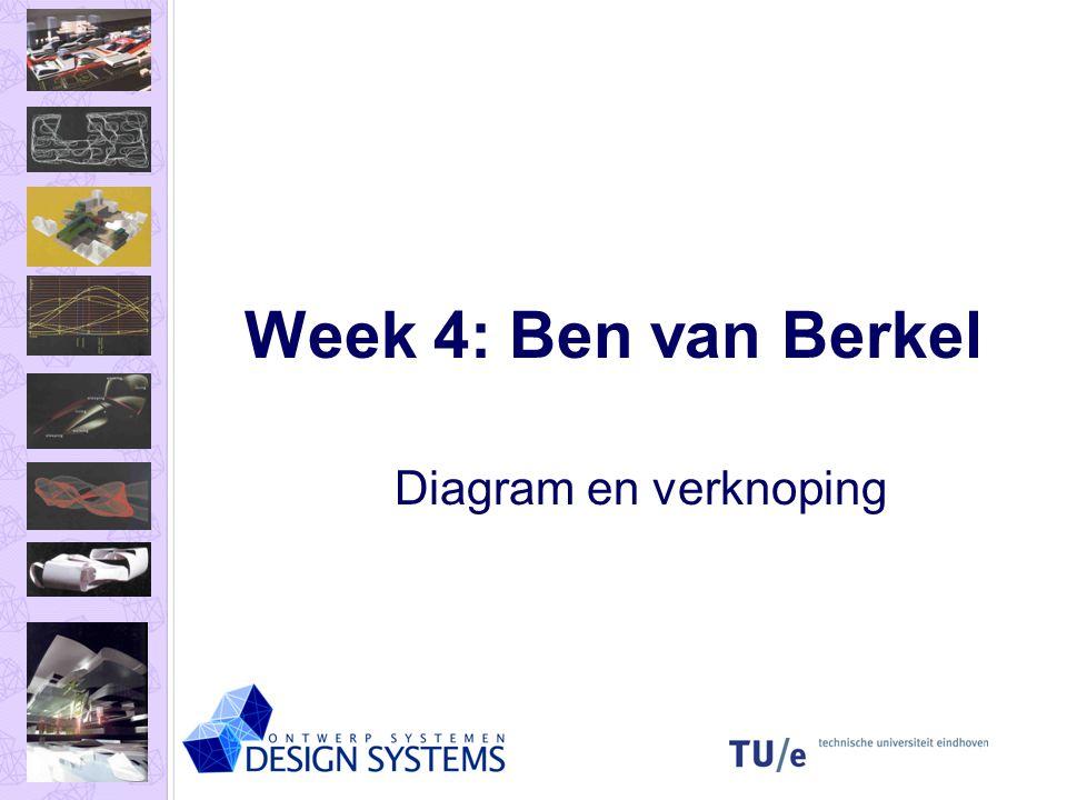 Week 4: Ben van Berkel Diagram en verknoping