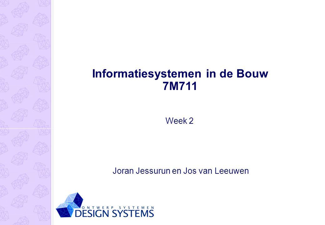 Informatiesystemen in de Bouw