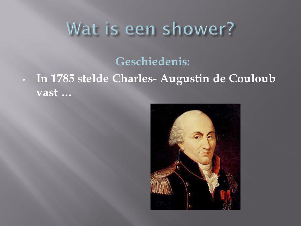 Wat is een shower Geschiedenis: