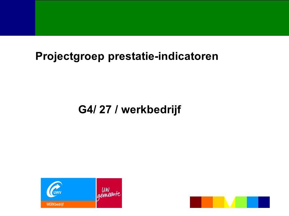 Projectgroep prestatie-indicatoren