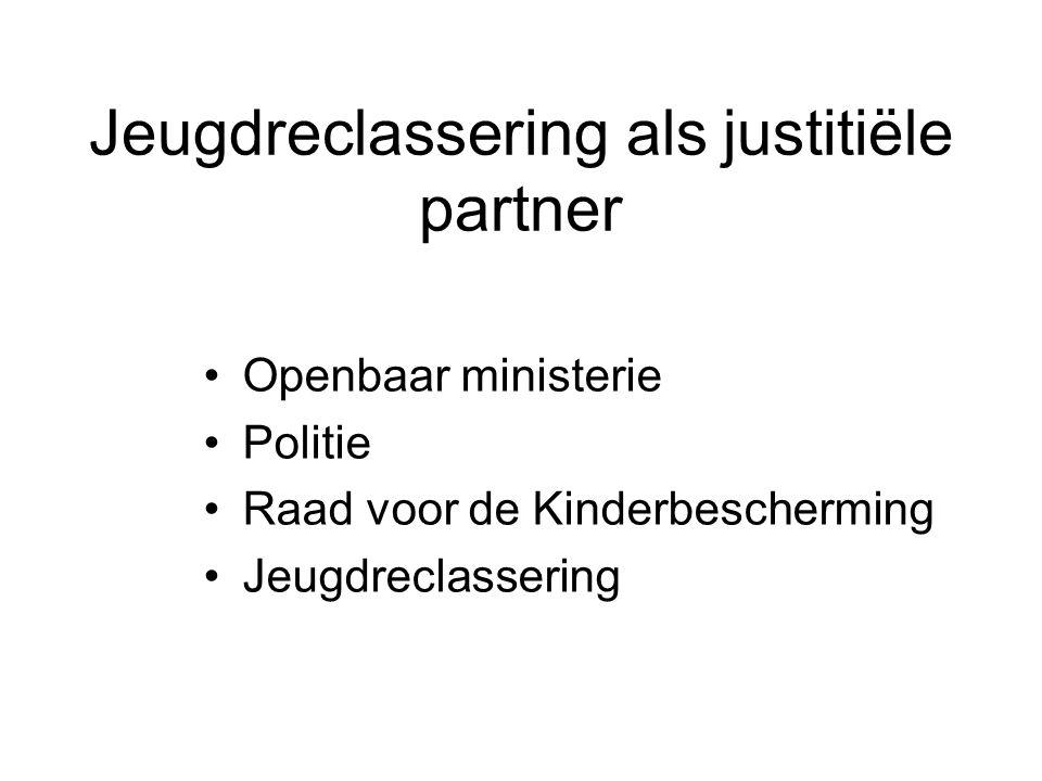 Jeugdreclassering als justitiële partner