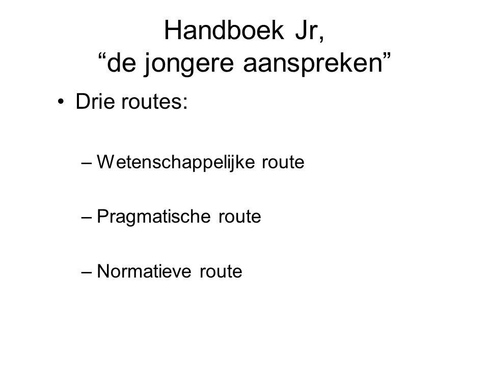 Handboek Jr, de jongere aanspreken