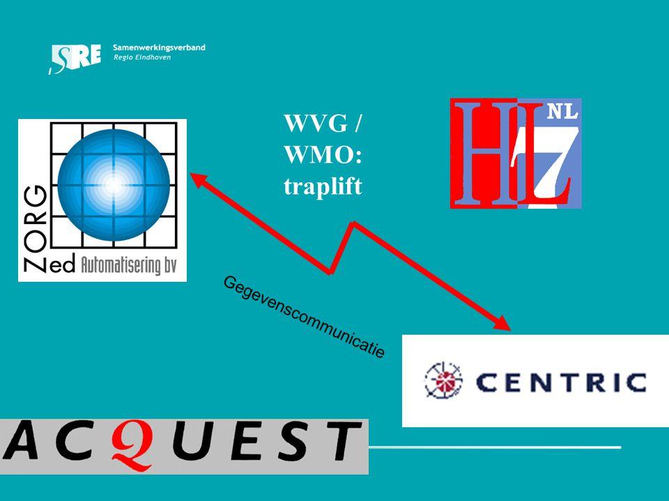 WVG / WMO: traplift Gegevenscommunicatie