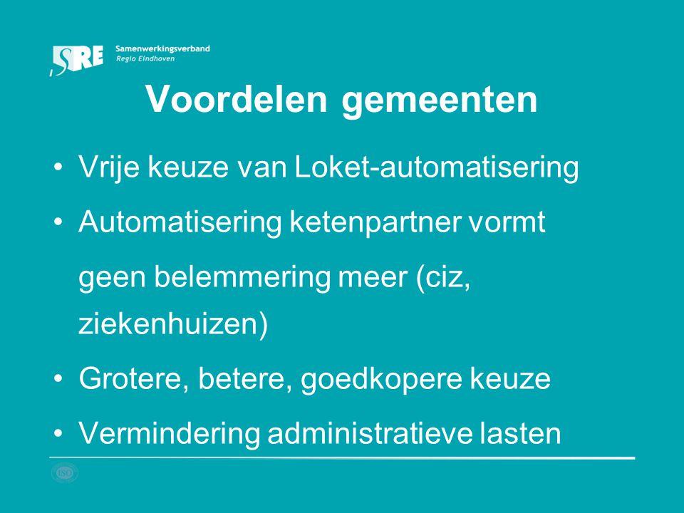Voordelen gemeenten Vrije keuze van Loket-automatisering