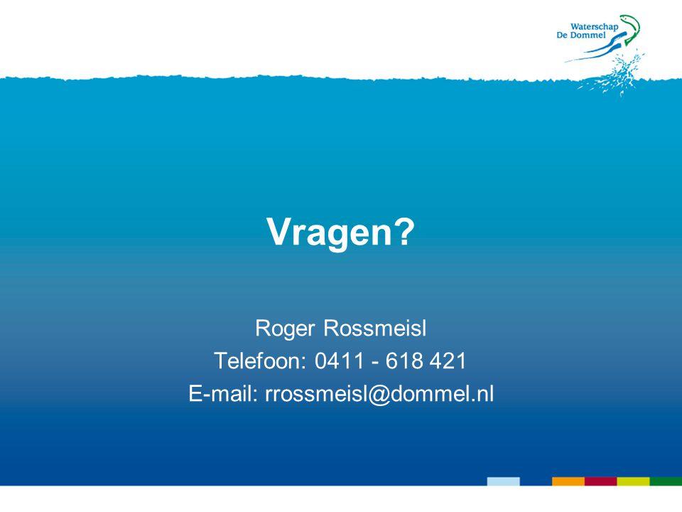 E-mail: rrossmeisl@dommel.nl