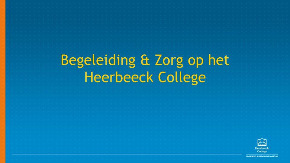 Begeleiding & Zorg op het Heerbeeck College