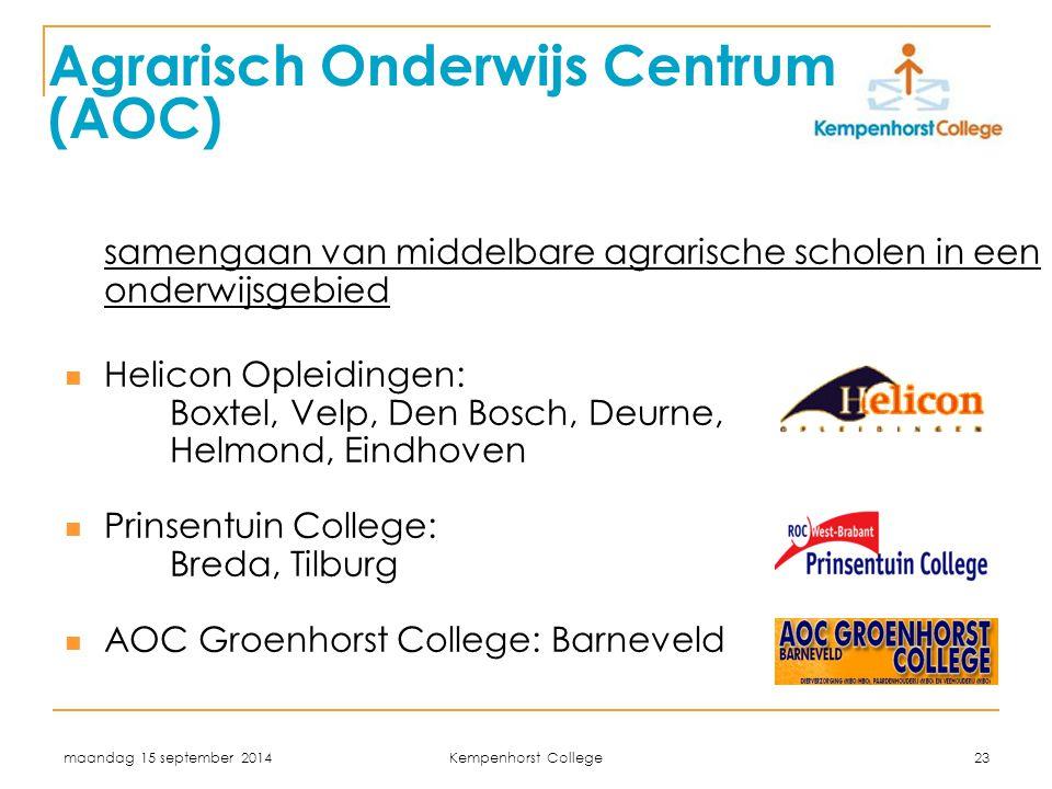 Agrarisch Onderwijs Centrum (AOC)