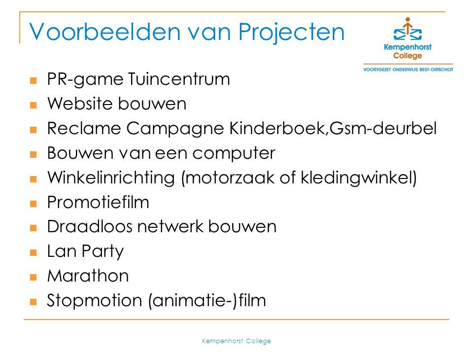 Voorbeelden van Projecten