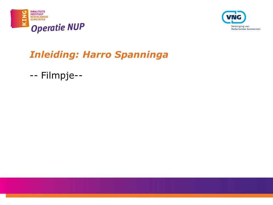Inleiding: Harro Spanninga