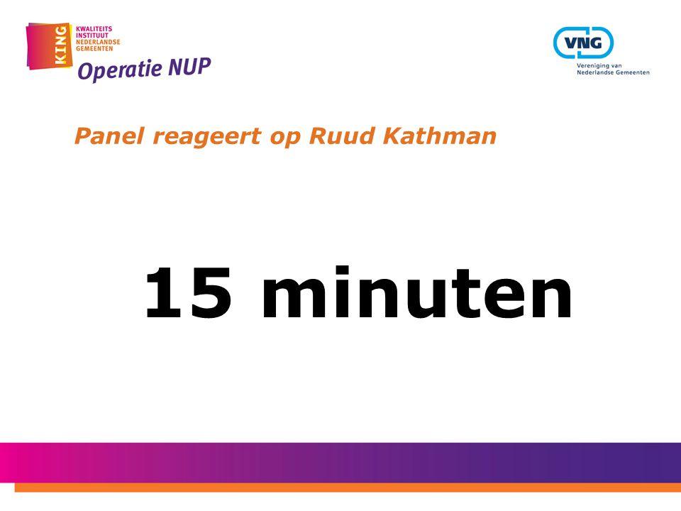 Panel reageert op Ruud Kathman