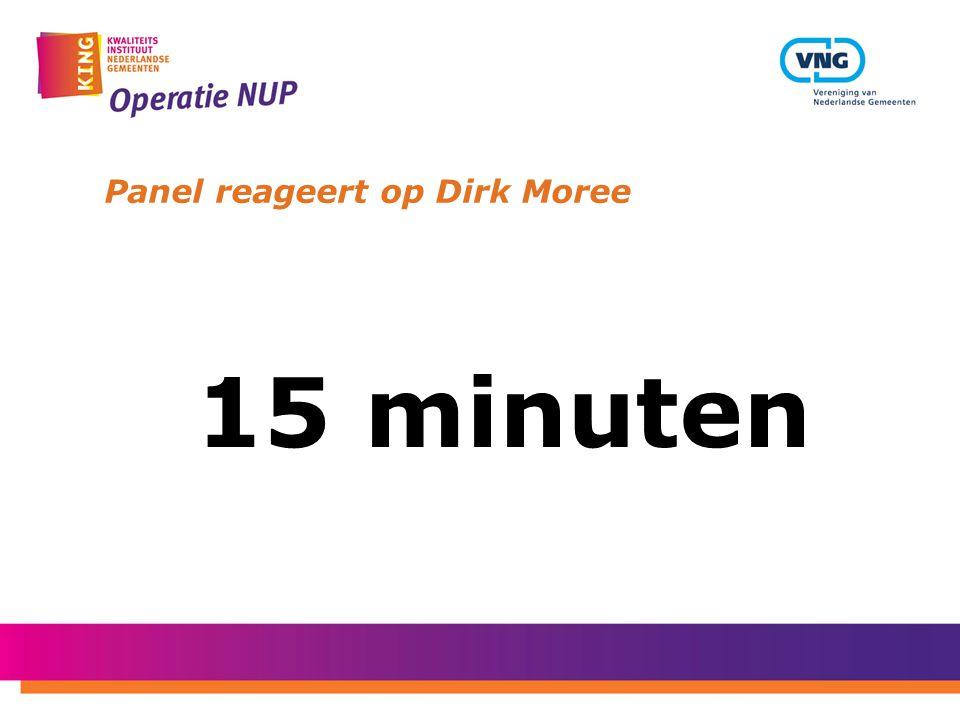 Panel reageert op Dirk Moree