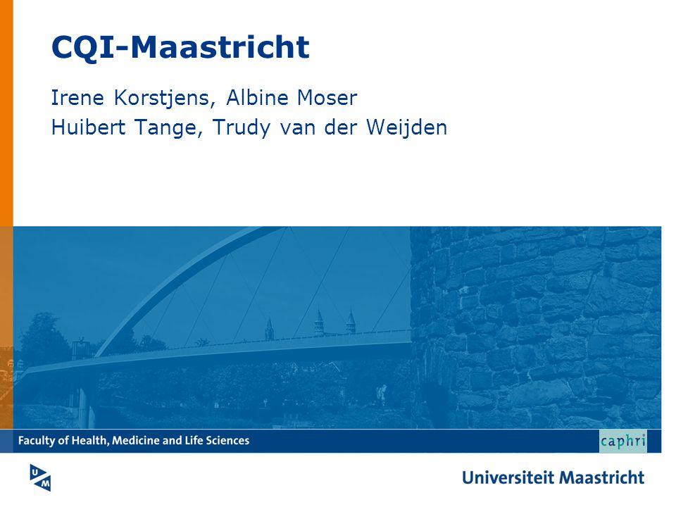 Irene Korstjens, Albine Moser Huibert Tange, Trudy van der Weijden