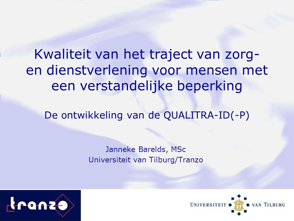 Janneke Barelds, MSc Universiteit van Tilburg/Tranzo