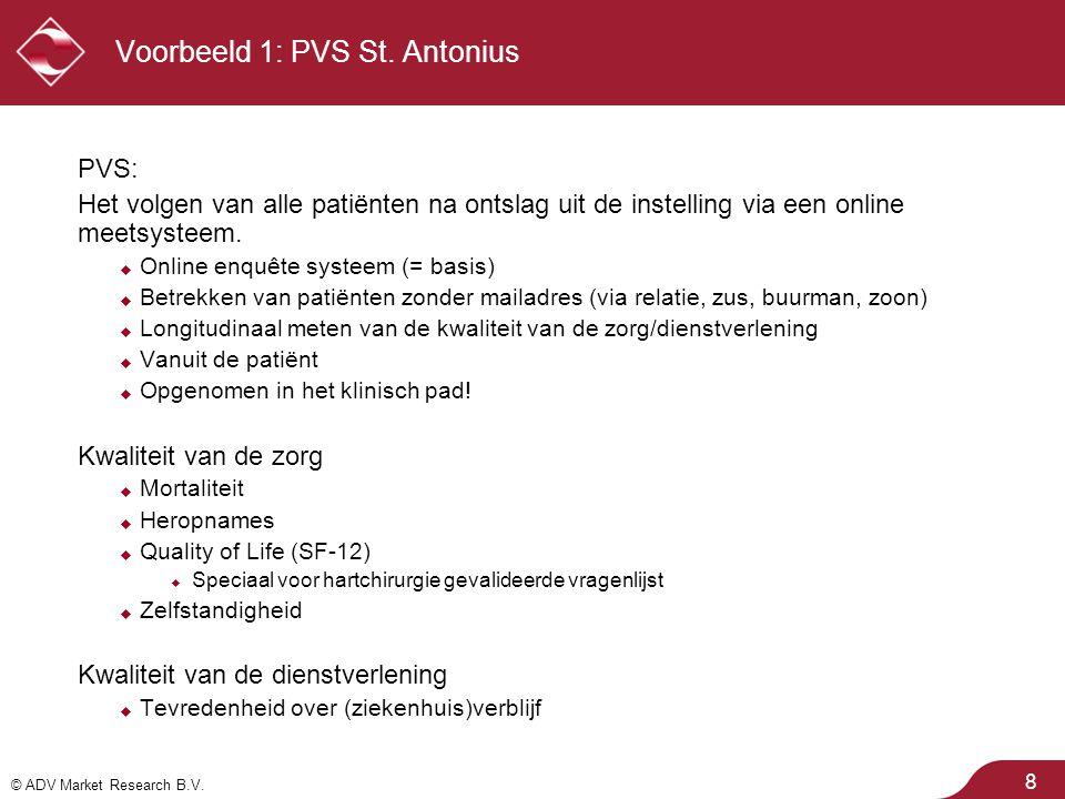 Voorbeeld 1: PVS St. Antonius