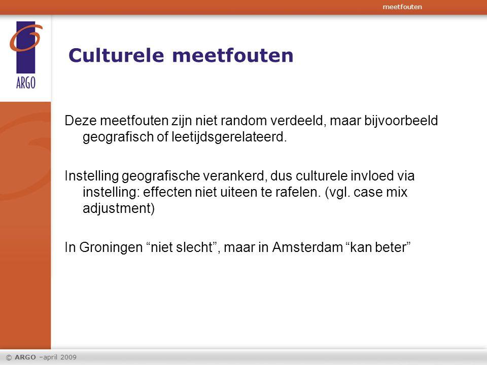 meetfouten Culturele meetfouten.