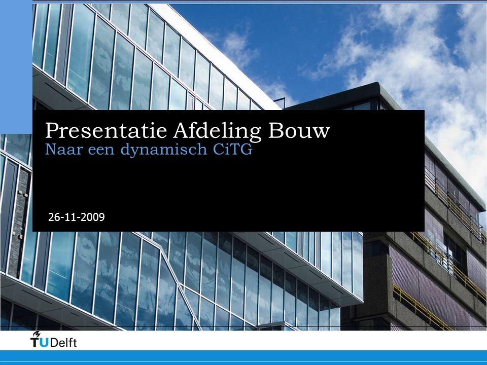 Presentatie Afdeling Bouw