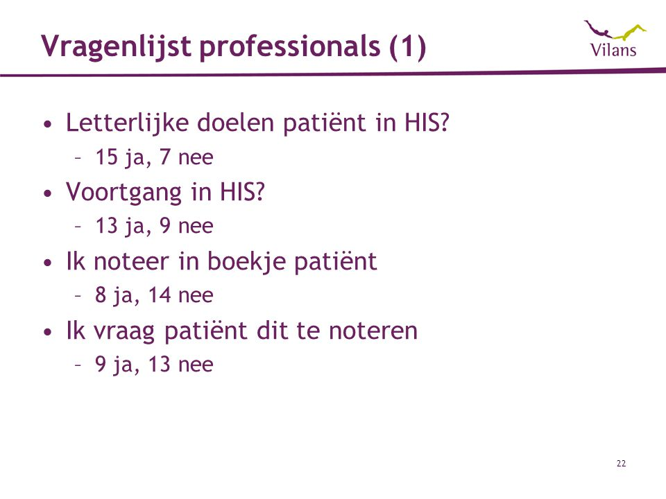 Vragenlijst professionals (1)
