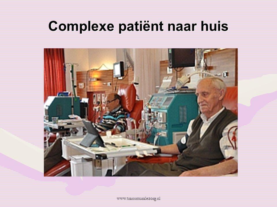 Complexe patiënt naar huis