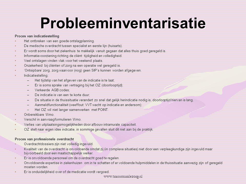 Probleeminventarisatie