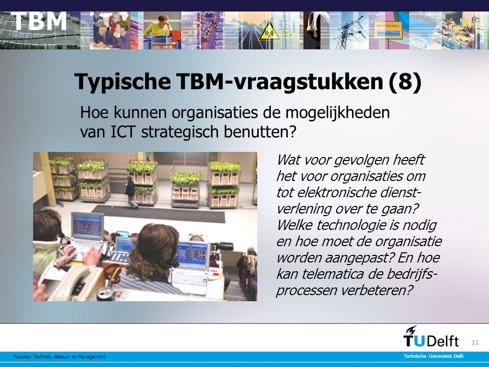 Typische TBM-vraagstukken (8)