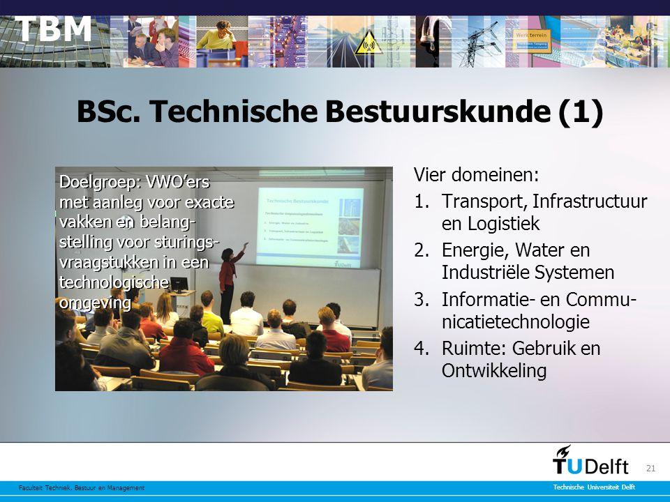 BSc. Technische Bestuurskunde (1)