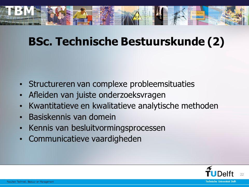 BSc. Technische Bestuurskunde (2)