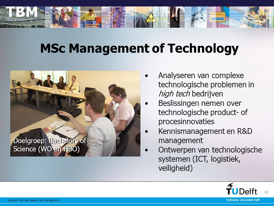 MSc Management of Technology