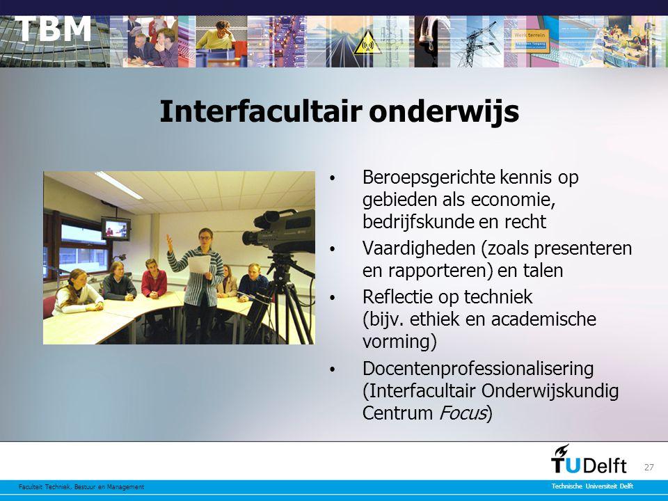 Interfacultair onderwijs