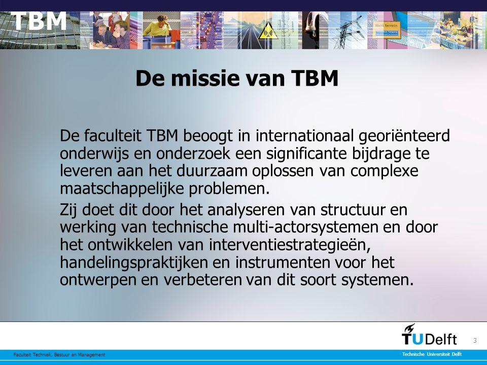De missie van TBM