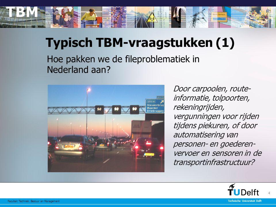 Typisch TBM-vraagstukken (1)