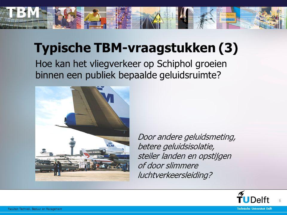 Typische TBM-vraagstukken (3)