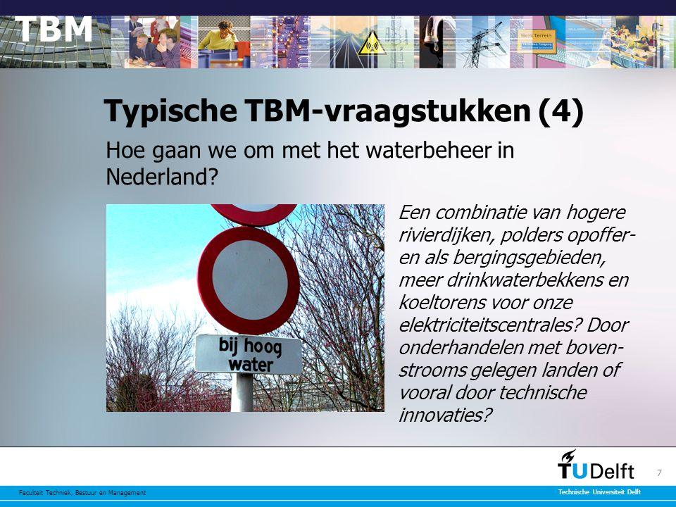 Typische TBM-vraagstukken (4)