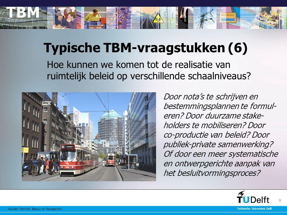 Typische TBM-vraagstukken (6)