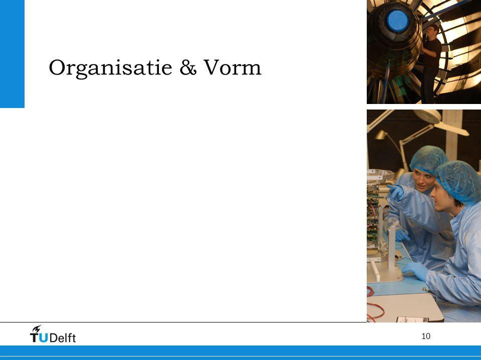 Organisatie & Vorm Kwaliteit van het proces van het promotietraject verbeteren en stroomlijnen van het promotieproces.