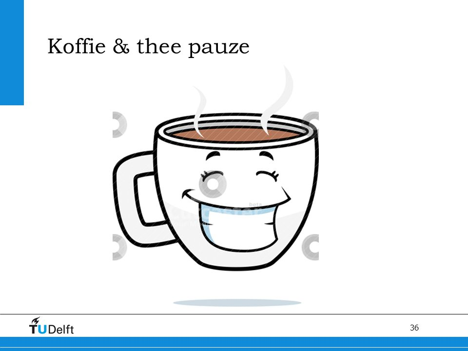 Koffie & thee pauze