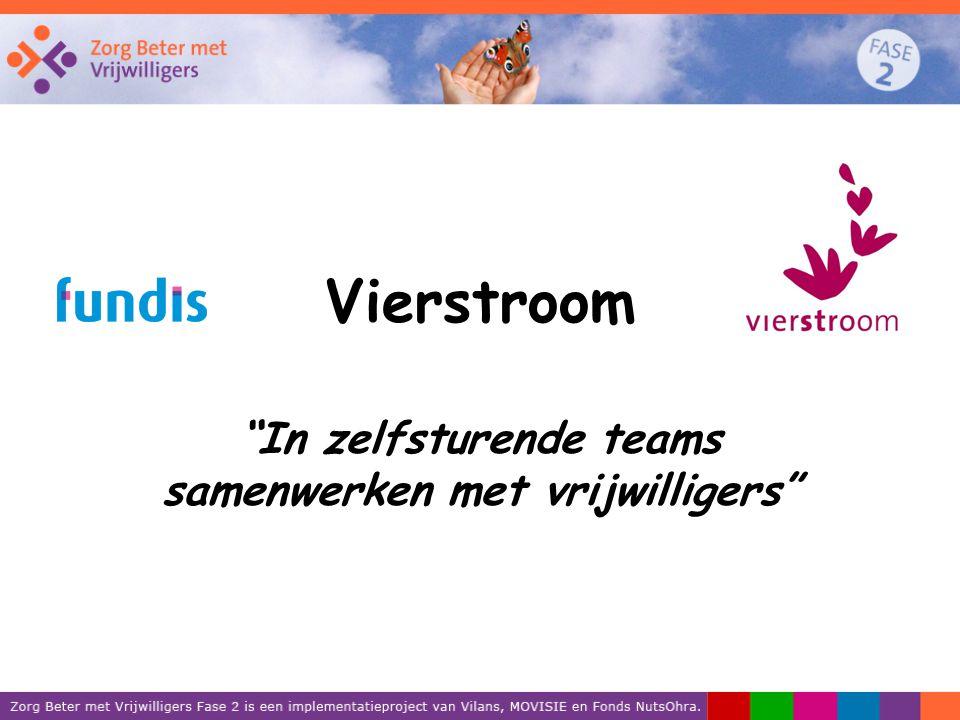 In zelfsturende teams samenwerken met vrijwilligers