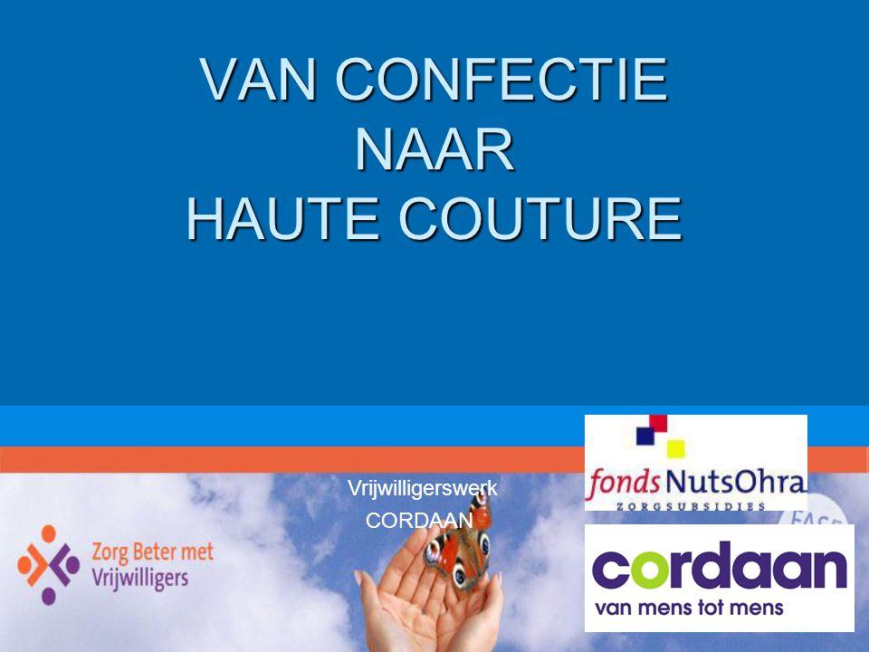 VAN CONFECTIE NAAR HAUTE COUTURE
