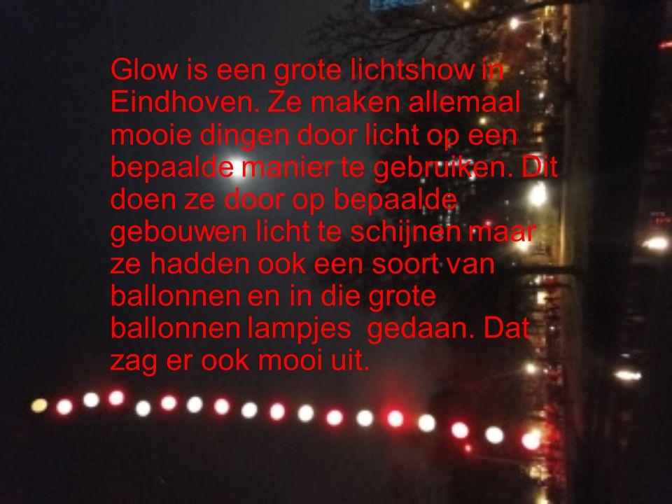 Glow is een grote lichtshow in Eindhoven