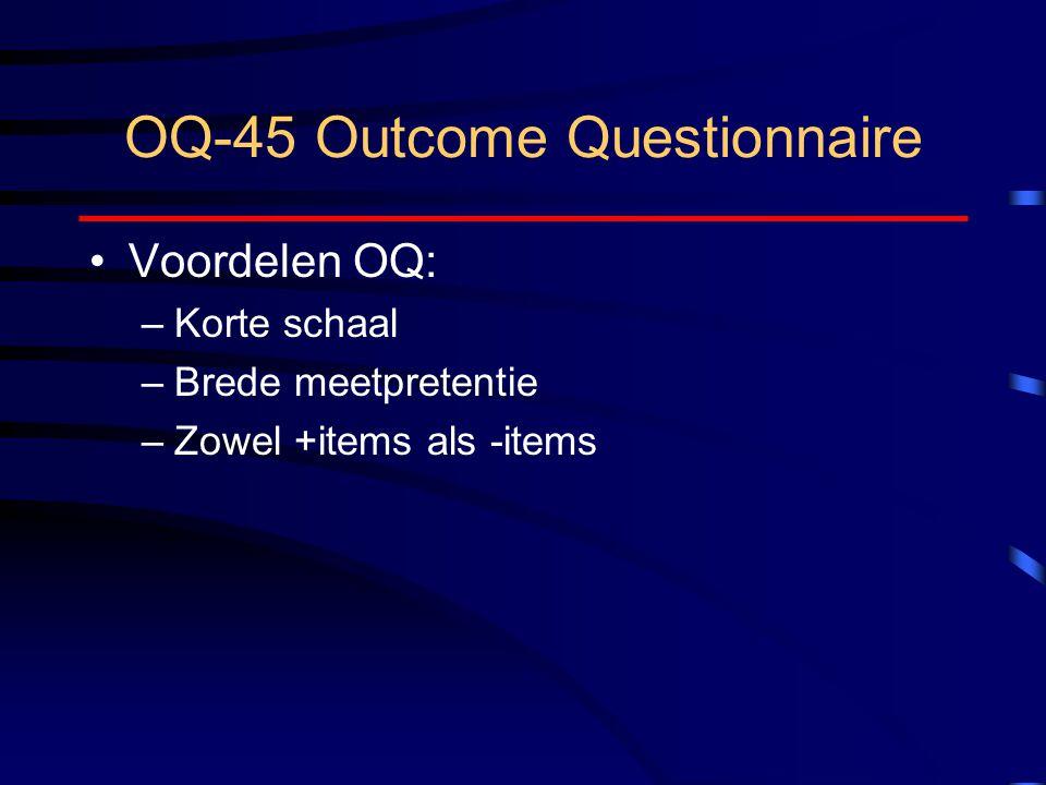 OQ-45 Outcome Questionnaire