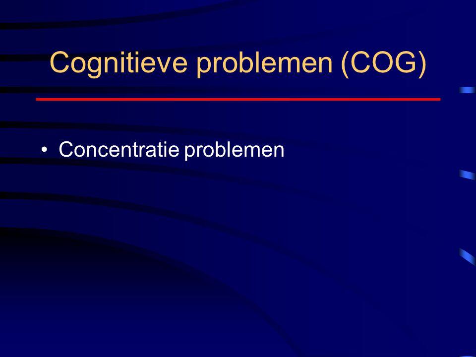 Cognitieve problemen (COG)