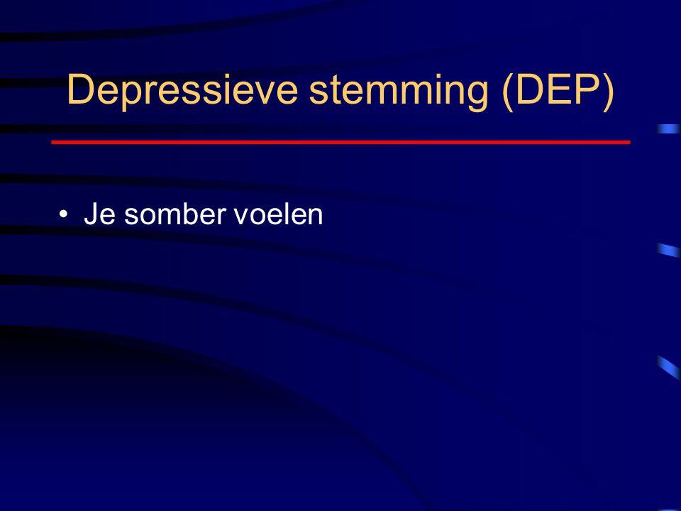 Depressieve stemming (DEP)