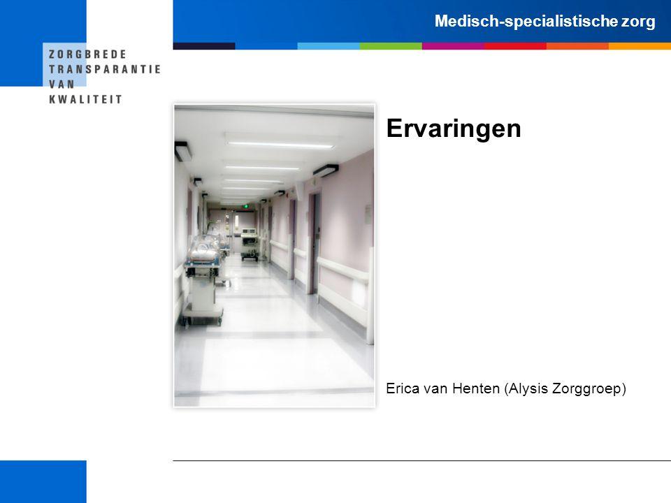Erica van Henten (Alysis Zorggroep)